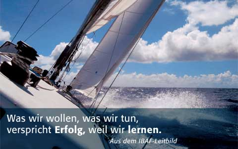 Segelyacht am Wind